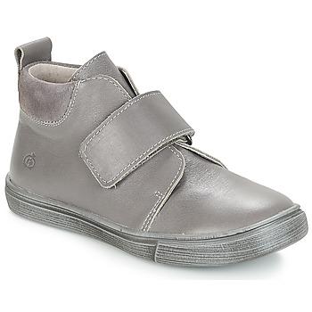 Shoes Boy Mid boots Citrouille et Compagnie JOJAMO Grey