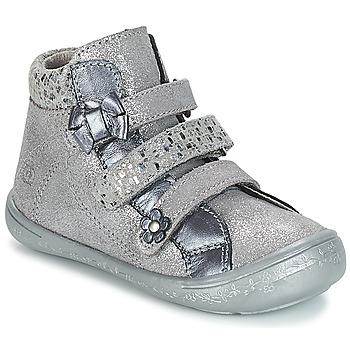 Shoes Girl Mid boots Citrouille et Compagnie JODIL Grey