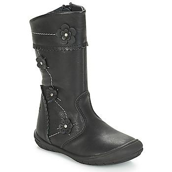 Shoes Girl Boots Citrouille et Compagnie JAMATIS Black