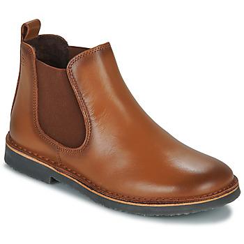 Shoes Boy Mid boots Citrouille et Compagnie JOVETTE Camel