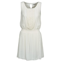 material Women Short Dresses Best Mountain ROBALA White