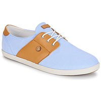 Shoes Low top trainers Faguo CYPRESS13 Blue / Camel