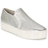 Shoes Women Slip ons Ash KURT Silver
