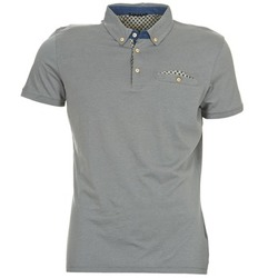 material Men short-sleeved polo shirts Sisley CATILARO Grey