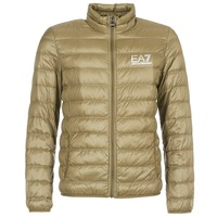 material Men Duffel coats Emporio Armani EA7 TRAIN CORE ID M DOWN LIGHT Brown