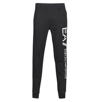 material Men Tracksuit bottoms Emporio Armani EA7 TRAIN TRITONAL M PANTS CH BR Black / White