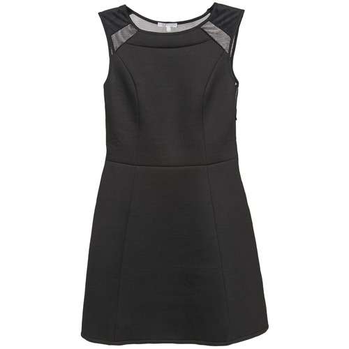 material Women Short Dresses Betty London BIJOU Black
