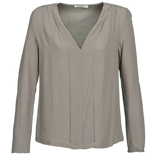 material Women Blouses See U Soon CHARLOTTE Taupe