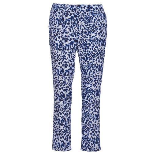 material Women Wide leg / Harem trousers See U Soon CLARA Blue / Black