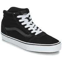 Shoes Children Low top trainers Vans VWM WARD HI Black