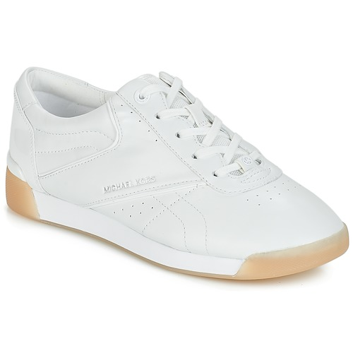 Shoes Women Low top trainers MICHAEL Michael Kors ADDIE LACE UP White