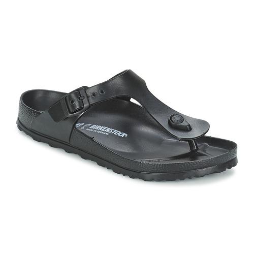 Shoes Women Flip flops Birkenstock GIZEH EVA Black