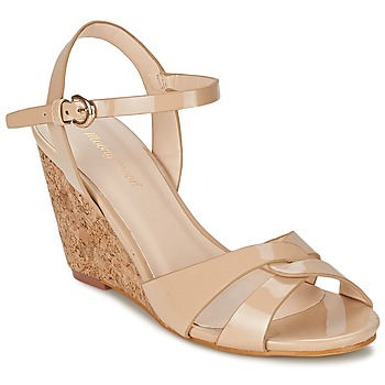 Shoes Women Sandals Moony Mood MAINTIRANA BEIGE / PATENT