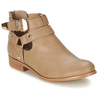 Shoes Women Mid boots Moony Mood BEZAH Beige