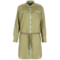material Women Short Dresses Maison Scotch JULIENAS Khaki
