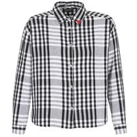 material Women Shirts Scotch & Soda FRINDA Black / White
