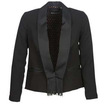 material Women Jackets / Blazers Maison Scotch BOUKOUM Black