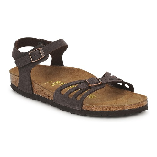Shoes Women Sandals Birkenstock BALI Brown