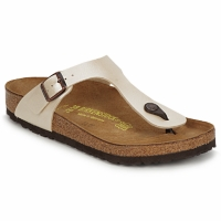 Shoes Women Flip flops Birkenstock GIZEH Cream