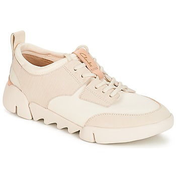 Shoes Women Low top trainers Clarks Tri Spirit White / Combi