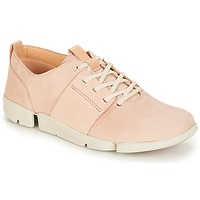 Shoes Women Low top trainers Clarks Tri Caitlin Nude / Pink