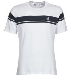 material Men short-sleeved t-shirts Sergio Tacchini YOUNG LINE White