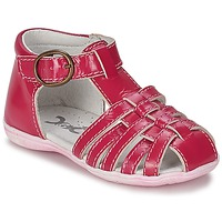 Shoes Girl Sandals Citrouille et Compagnie TRAMELLE Fuschia