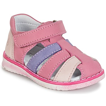 Shoes Girl Sandals Citrouille et Compagnie FRINOUI Lilac / Pink / Fuschia