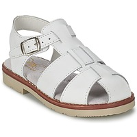 Shoes Boy Sandals Citrouille et Compagnie MOUNET White