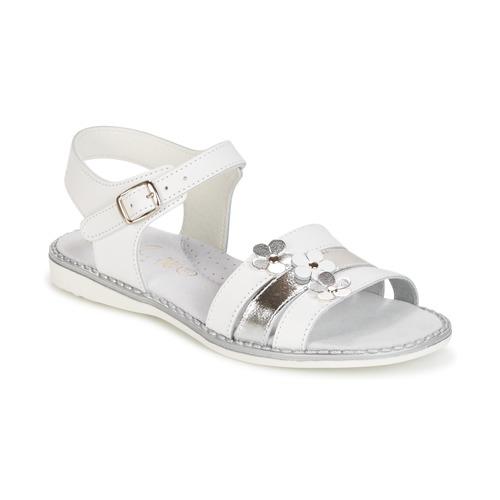 Shoes Girl Sandals Citrouille et Compagnie KATAGUE White