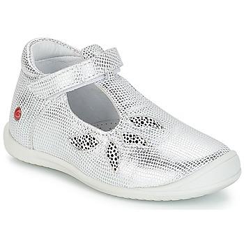 Shoes Girl Ballerinas GBB MARGOT Vte / Silver
