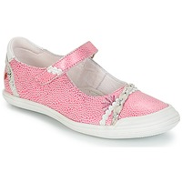 Shoes Girl Ballerinas GBB MARION Vte / Pink-white