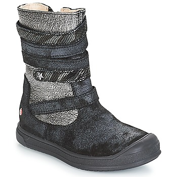 Shoes Girl Boots GBB NOURIA Vtc / Black