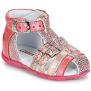 Shoes Girl Sandals GBB PHILADELPHIA Vte / Coral