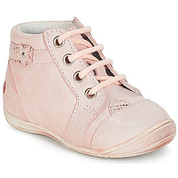 Shoes Girl Low top trainers GBB PRIMROSE Vte / Pink / Skin / Kezia
