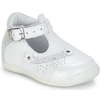 Shoes Girl Low top trainers GBB PASCALE Vte / White / Kezia