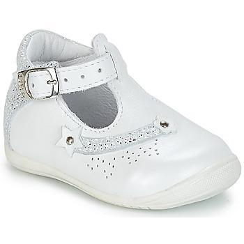 Shoes Girl Sandals GBB PASCALE Vte / White / Kezia