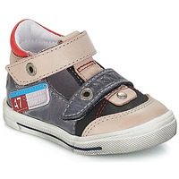 Shoes Boy Low top trainers GBB PEPINO Vte / Gray-jean / Snow