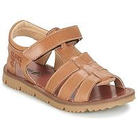Shoes Boy Sandals GBB PATHE Vte / Brown / Lisbonna