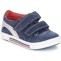 Shoes Boy Low top trainers Catimini PERRUCHE Nus / Marine red / Strike