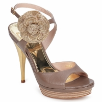 Shoes Women Sandals Fericelli MINKA Skin / Turtledove