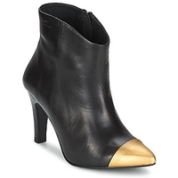 Shoes Women Ankle boots Pastelle ARIEL Black gold