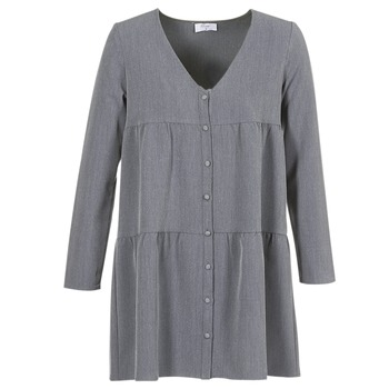 material Women Short Dresses Betty London JOGURET Grey