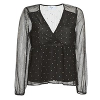 material Women Blouses Betty London JENASQUE Black