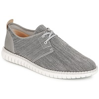 Shoes Men Low top trainers Clarks MZT Freedom Grey / Canvas