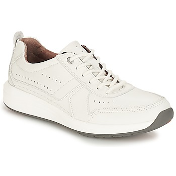 Shoes Men Low top trainers Clarks Un Coast Form White / Leather