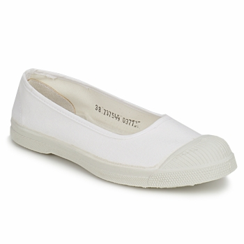 Shoes Women Ballerinas Bensimon BALLERINE White