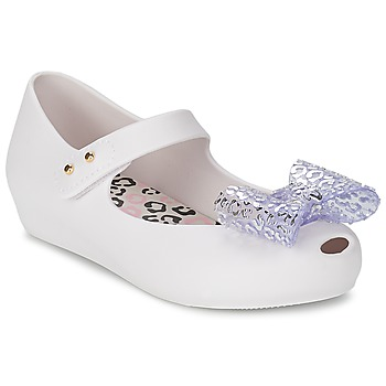 Shoes Women Ballerinas Melissa MINI ULTRAGIRL MINNIE MOUSE White
