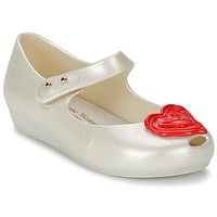 Shoes Girl Ballerinas Melissa VW MINI ULTRAGIRL Beige