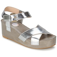 Shoes Women Sandals RAS NIOBE Silver
